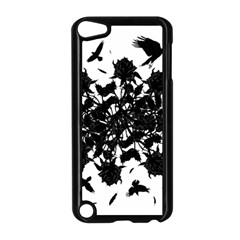 Black Roses And Ravens  Apple Ipod Touch 5 Case (black) by Valentinaart