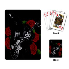 Slash Playing Card by Valentinaart