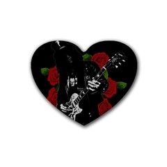 Slash Rubber Coaster (heart)  by Valentinaart