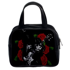 Slash Classic Handbags (2 Sides) by Valentinaart
