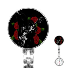 Slash Stainless Steel Nurses Watch by Valentinaart