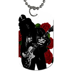 Slash Dog Tag (two Sides) by Valentinaart