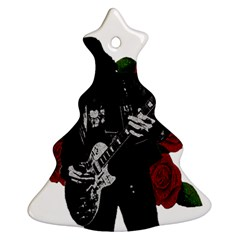 Slash Christmas Tree Ornament (two Sides) by Valentinaart