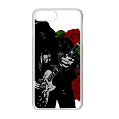 Slash Apple Iphone 7 Plus White Seamless Case by Valentinaart