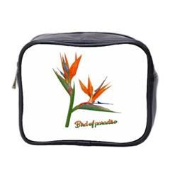 Bird Of Paradise Mini Toiletries Bag 2 Side by Valentinaart