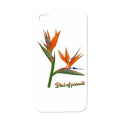Bird Of Paradise Apple Iphone 4 Case (white) by Valentinaart