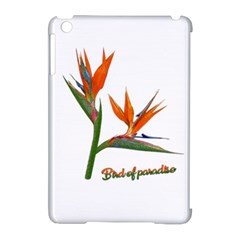 Bird Of Paradise Apple Ipad Mini Hardshell Case (compatible With Smart Cover) by Valentinaart