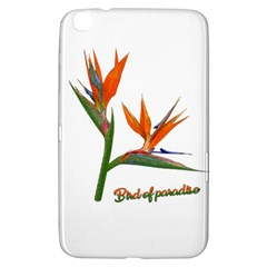 Bird Of Paradise Samsung Galaxy Tab 3 (8 ) T3100 Hardshell Case  by Valentinaart