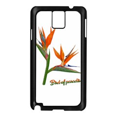 Bird Of Paradise Samsung Galaxy Note 3 N9005 Case (black) by Valentinaart