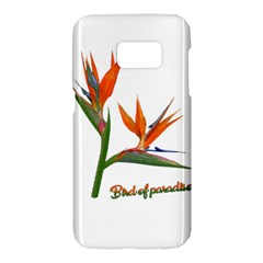 Bird Of Paradise Samsung Galaxy S7 Hardshell Case  by Valentinaart