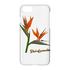 Bird Of Paradise Apple Iphone 7 Hardshell Case by Valentinaart