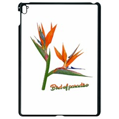 Bird Of Paradise Apple Ipad Pro 9 7   Black Seamless Case by Valentinaart