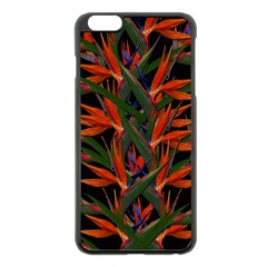 Bird Of Paradise Apple Iphone 6 Plus/6s Plus Black Enamel Case by Valentinaart