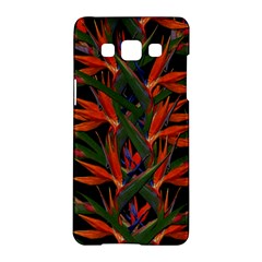 Bird Of Paradise Samsung Galaxy A5 Hardshell Case  by Valentinaart
