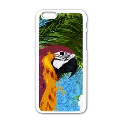 Ara Apple Iphone 6/6s White Enamel Case by Valentinaart