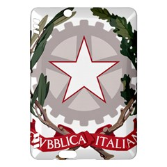Emblem Of Italy Kindle Fire Hdx Hardshell Case by abbeyz71