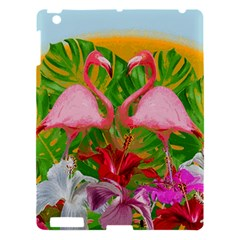 Flamingo Apple Ipad 3/4 Hardshell Case by Valentinaart