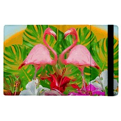 Flamingo Apple Ipad Pro 12 9   Flip Case by Valentinaart