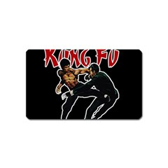 Kung Fu  Magnet (name Card) by Valentinaart