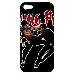 Kung Fu  Apple Iphone 5 Hardshell Case by Valentinaart