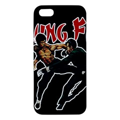 Kung Fu  Iphone 5s/ Se Premium Hardshell Case by Valentinaart