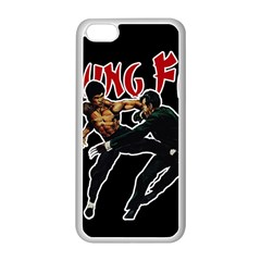 Kung Fu  Apple Iphone 5c Seamless Case (white) by Valentinaart