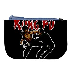 Kung Fu  Large Coin Purse by Valentinaart