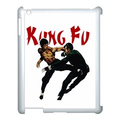 Kung Fu  Apple Ipad 3/4 Case (white) by Valentinaart
