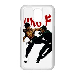 Kung Fu  Samsung Galaxy S5 Case (white) by Valentinaart