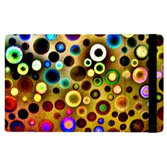 Colorful Circle Pattern Apple Ipad Pro 12 9   Flip Case by Costasonlineshop