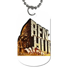 Ben Hur Dog Tag (two Sides) by Valentinaart