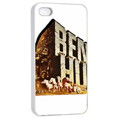 Ben Hur Apple Iphone 4/4s Seamless Case (white) by Valentinaart