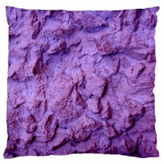 Purple Wall Background Large Cushion Case (one Side) by Costasonlineshop