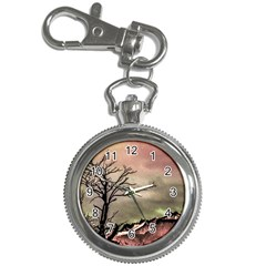 Fantasy Landscape Illustration Key Chain Watches by dflcprints