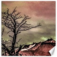 Fantasy Landscape Illustration Canvas 12  X 12   by dflcprints