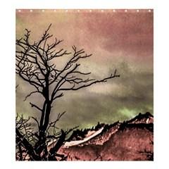 Fantasy Landscape Illustration Shower Curtain 66  X 72  (large)  by dflcprints