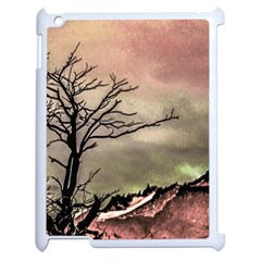Fantasy Landscape Illustration Apple Ipad 2 Case (white) by dflcprints