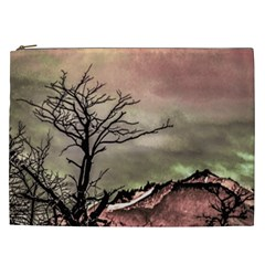 Fantasy Landscape Illustration Cosmetic Bag (xxl)  by dflcprints