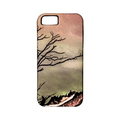 Fantasy Landscape Illustration Apple Iphone 5 Classic Hardshell Case (pc+silicone) by dflcprints