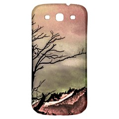 Fantasy Landscape Illustration Samsung Galaxy S3 S Iii Classic Hardshell Back Case by dflcprints