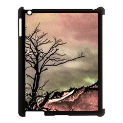 Fantasy Landscape Illustration Apple Ipad 3/4 Case (black) by dflcprints