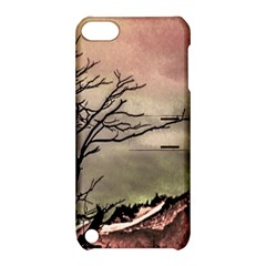 Fantasy Landscape Illustration Apple Ipod Touch 5 Hardshell Case With Stand by dflcprints