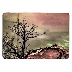 Fantasy Landscape Illustration Samsung Galaxy Tab 8 9  P7300 Flip Case by dflcprints