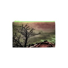 Fantasy Landscape Illustration Cosmetic Bag (xs) by dflcprints
