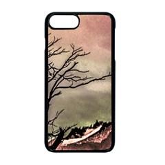 Fantasy Landscape Illustration Apple Iphone 7 Plus Seamless Case (black) by dflcprints