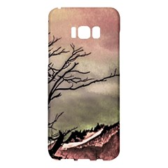 Fantasy Landscape Illustration Samsung Galaxy S8 Plus Hardshell Case  by dflcprints