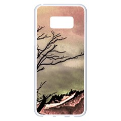Fantasy Landscape Illustration Samsung Galaxy S8 Plus White Seamless Case by dflcprints