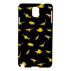 Dinosaurs Pattern Samsung Galaxy Note 3 N9005 Hardshell Case by ValentinaDesign