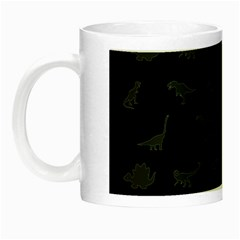 Dinosaurs Pattern Night Luminous Mugs by ValentinaDesign