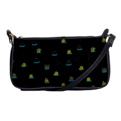 Cactus Pattern Shoulder Clutch Bags by ValentinaDesign